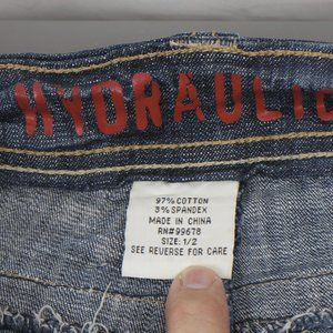 Hydraulic Jeans - Hydraulic Super Low Metro Boot 1 2 (24 X 32)